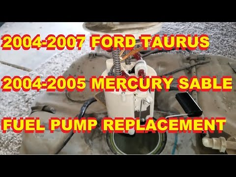 2004 2005 2006 2007 Ford Taurus Mercury Sable Fuel Pump Replacement