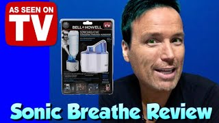 Bell + Howell Sonic Breathe Personal Vaporizer Humidifier Unboxing Review