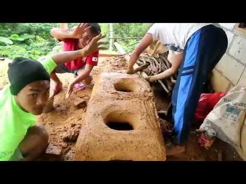 Pembuatan Dapur Klasik Dr Tanah Liat Persiapan Besuk Golek Dino Youtube
