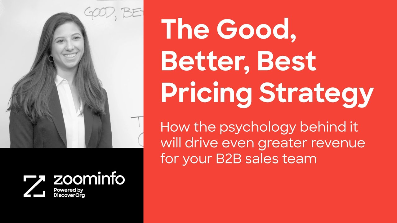 The Good, Better, Best Pricing Strategy