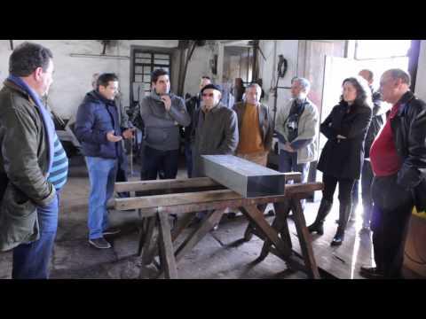 Vilar de Mouros:  Pr. CMCaminha visita Oficina Ferreiros