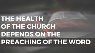If you want a healthy church...