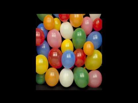 Encuentra el globo color morado