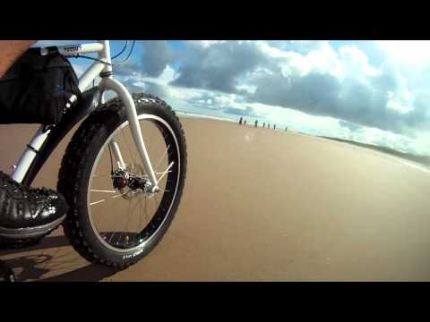 UK Fat Bike - Northumberland 2011