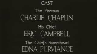 "Charlie Chalin in ""THE FIREMAN 1916"""