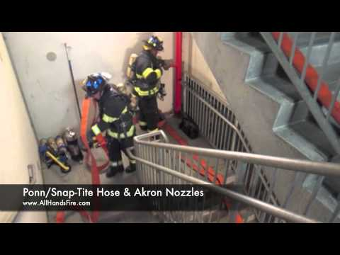 High Rise Hose Pack Ponn Hose and Akron Nozzle - YouTube