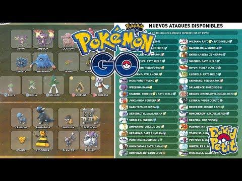 OPINIÓN Y LISTA COMPLETA NUEVOS MOVIMIENTOS EN ALGUNOS POKÉMON! [Pokémon GO-davidpetit] thumbnail