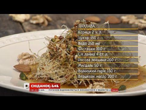 Шекинская пахлава рецепт