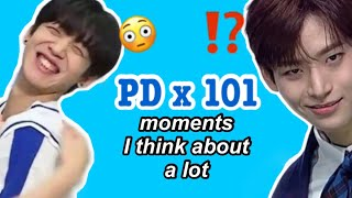 PRODUCE X 101 moments I think about a lot