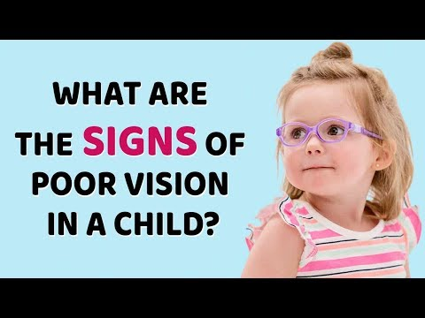 Eye and Vision problems at early age   KIDS EYE CARE