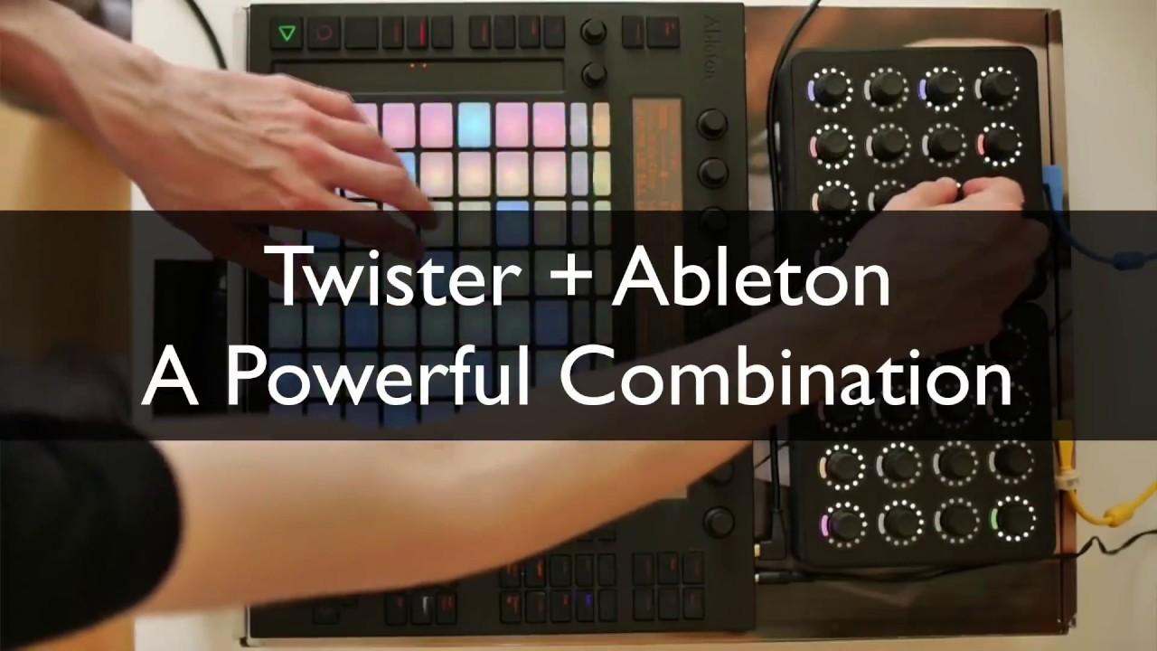 DJ TechTools - MF Twister Ableton Script