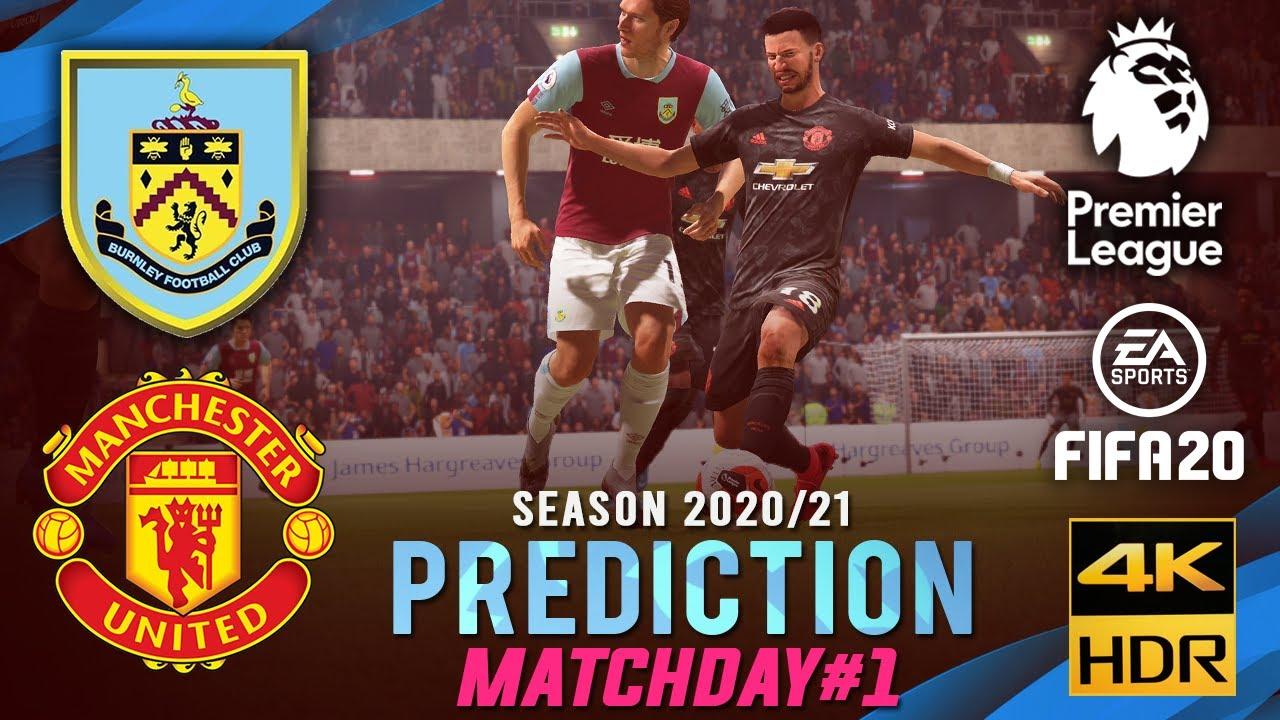 BURNLEY vs MANCHESTER UTD | EPL 2020/2021 Prediction ...