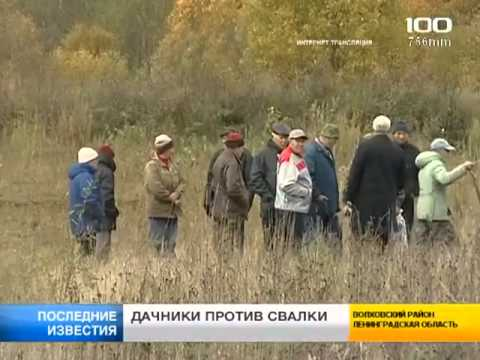Дачники против свалки в Пупышево