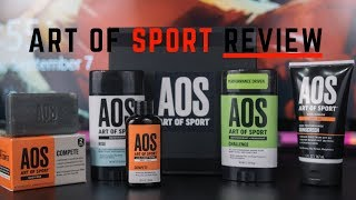 Gambar cover Skin And Body Care Products For Athletes | Art Of Sport Review