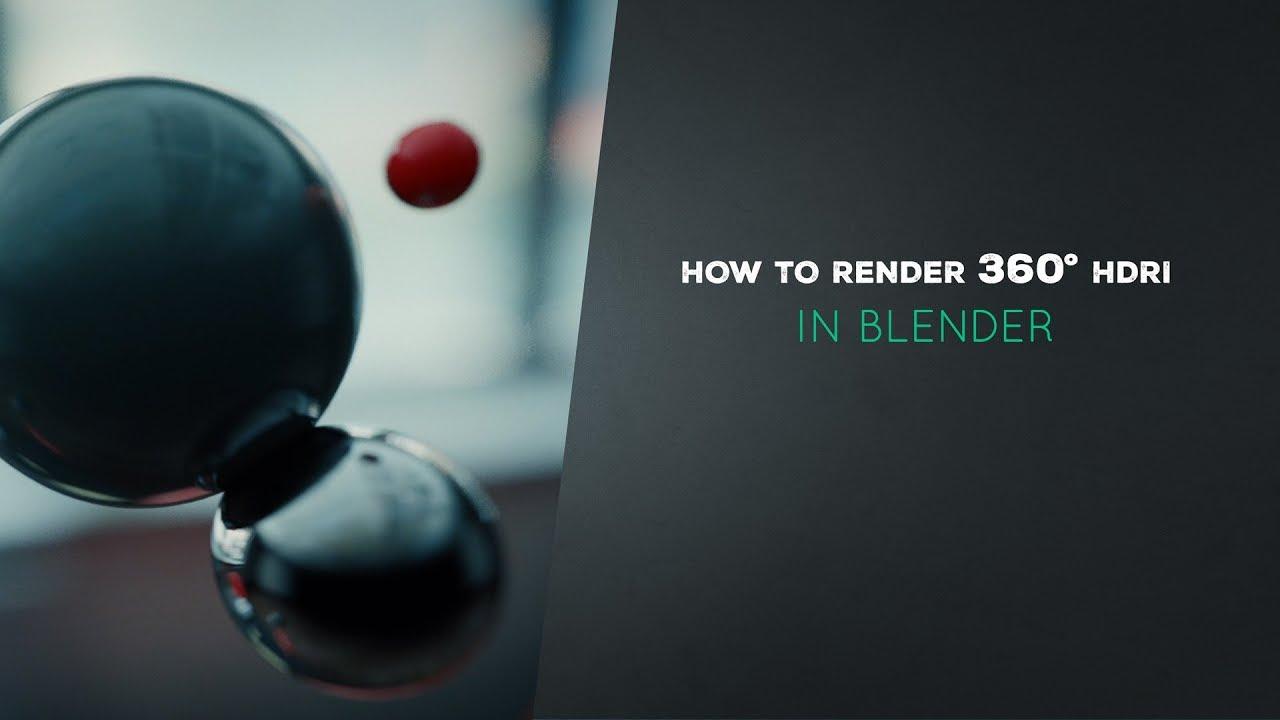 How to Render HDRI in Blender (6/7) • Creative Shrimp