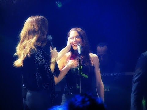 A Beautiful Moment - Celine Donates Flowers For Elise
