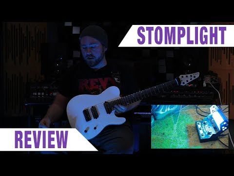 STOMPLIGHT Pedal Stage Lighting Review | GEAR GODS