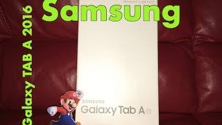 SAMSUNG Galaxy TAB A 2016 Recensione ITA