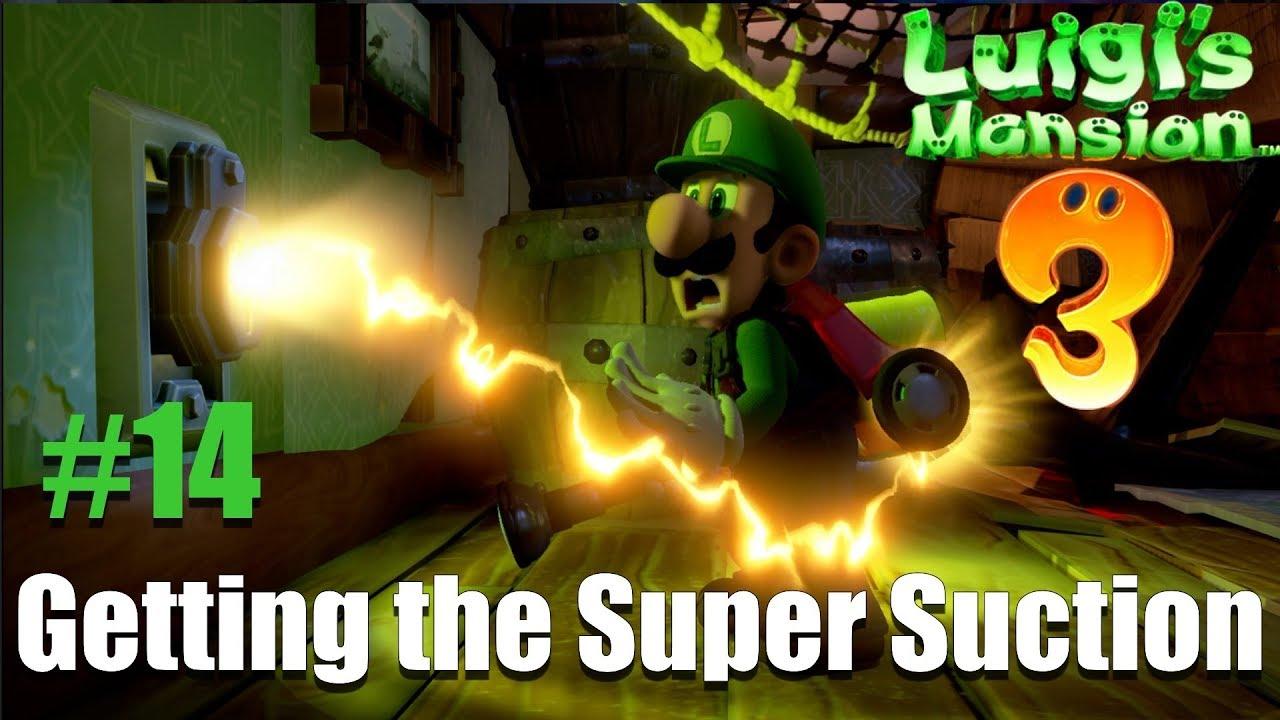 Luigi S Mansion 3 Walkthrough 14 Getting The Super