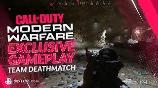 NEW Modern Warfare 2019 Exclusive Gameplay - TDM on Azhir Cave