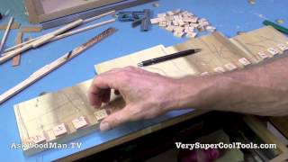 13 Four Drawer Bedside Table • Dovetail Layout For Drawers