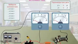 Определение ЭДС и внутреннего сопротивления источника тока