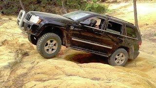 Jeep Grand Cherokee HEMI @ The Watagans