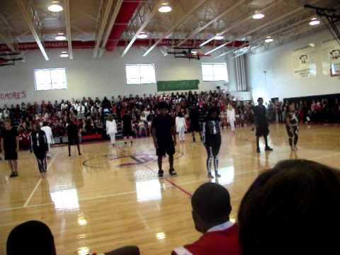 Chatham High School pep rally 2011