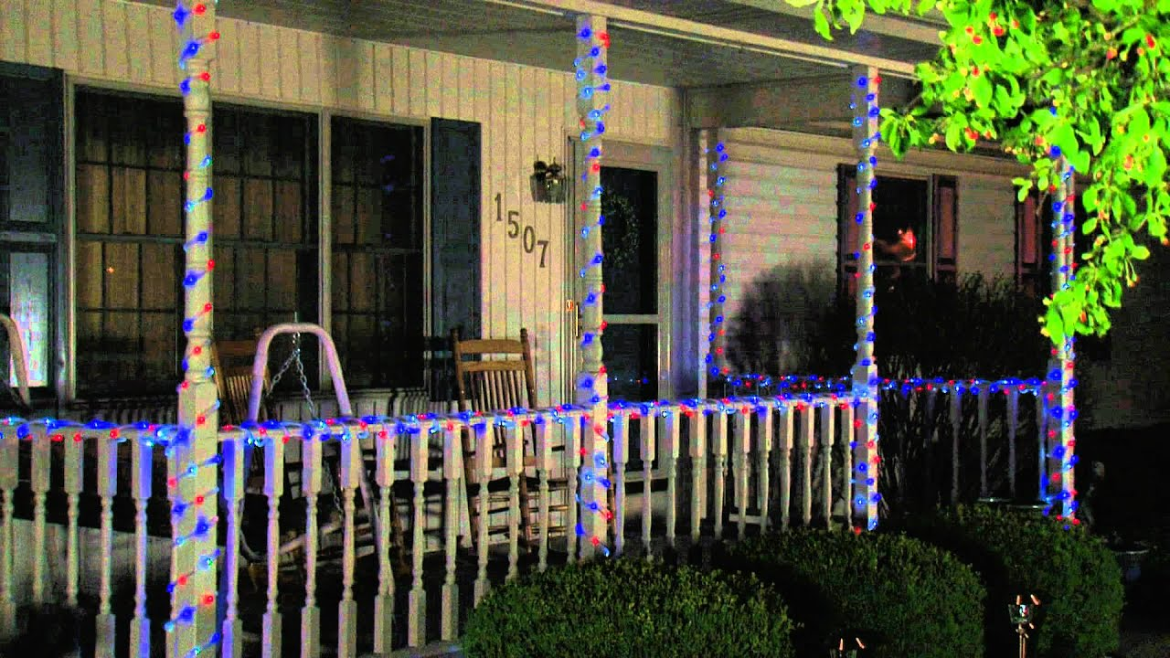Solar red white and blue rope lights from flipo youtube solar red white and blue rope lights from flipo aloadofball