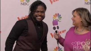 Davon Fleming Interview - The Voice - Red Carpet - Team Jennifer Hudson