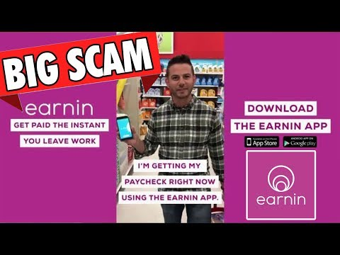 is the Earnin App a Scam | Early Paycheck