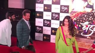 Emotional Janhvi Kapoor HUGS Her family members Anil Kapoor, Sanjay at the 'DHADAK' Trailer launch