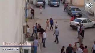 Repeat youtube video Bakının Nərimanov rayonunda kütləvi dava olub - eksklüziv görüntülər