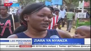 Raila na Uhuru kuzuru eneo la Nyanza