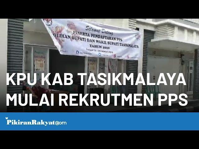 KPU Kab. Tasikmalaya Mulai Rekrutment PPS