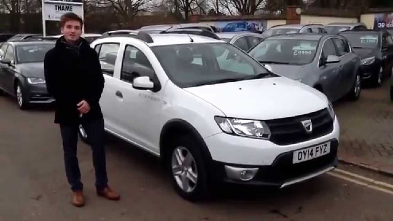 2014 14 dacia sandero stepway 1 5 dci ambience 5dr at thame cars youtube. Black Bedroom Furniture Sets. Home Design Ideas