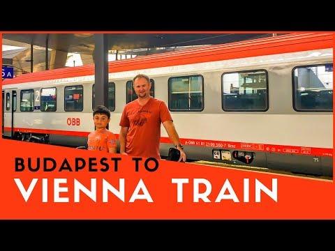 Budapest to Vienna Train Trip