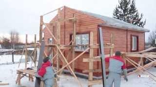 Монтаж быстровозводимого дома по технологии ИНСИ(На видео показано строительство быстровозводимого дома. Показано, как можно своими руками построить дом., 2015-02-02T13:02:12.000Z)