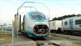 Die erste Runde - Auf der Prüfstrecke für Züge