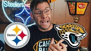 Dad Reacts to Steelers vs Jaguars (Week 11)
