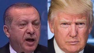 """Эрдоган грозит Трампу """"Османской пощечиной"""""""