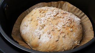 치대는 반죽 없는 초간단 100% 통밀빵 만들기! 쉽고…