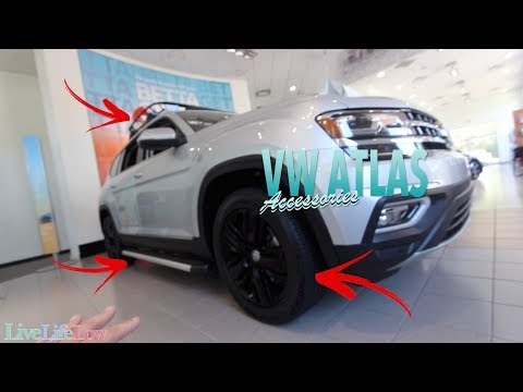Volkswagen Atlas with Accessories | See What They Look Like Already Installed!!!