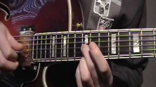GUITAR LESSON how to play Bon Jovi Wanted Dead Or Alive Intro