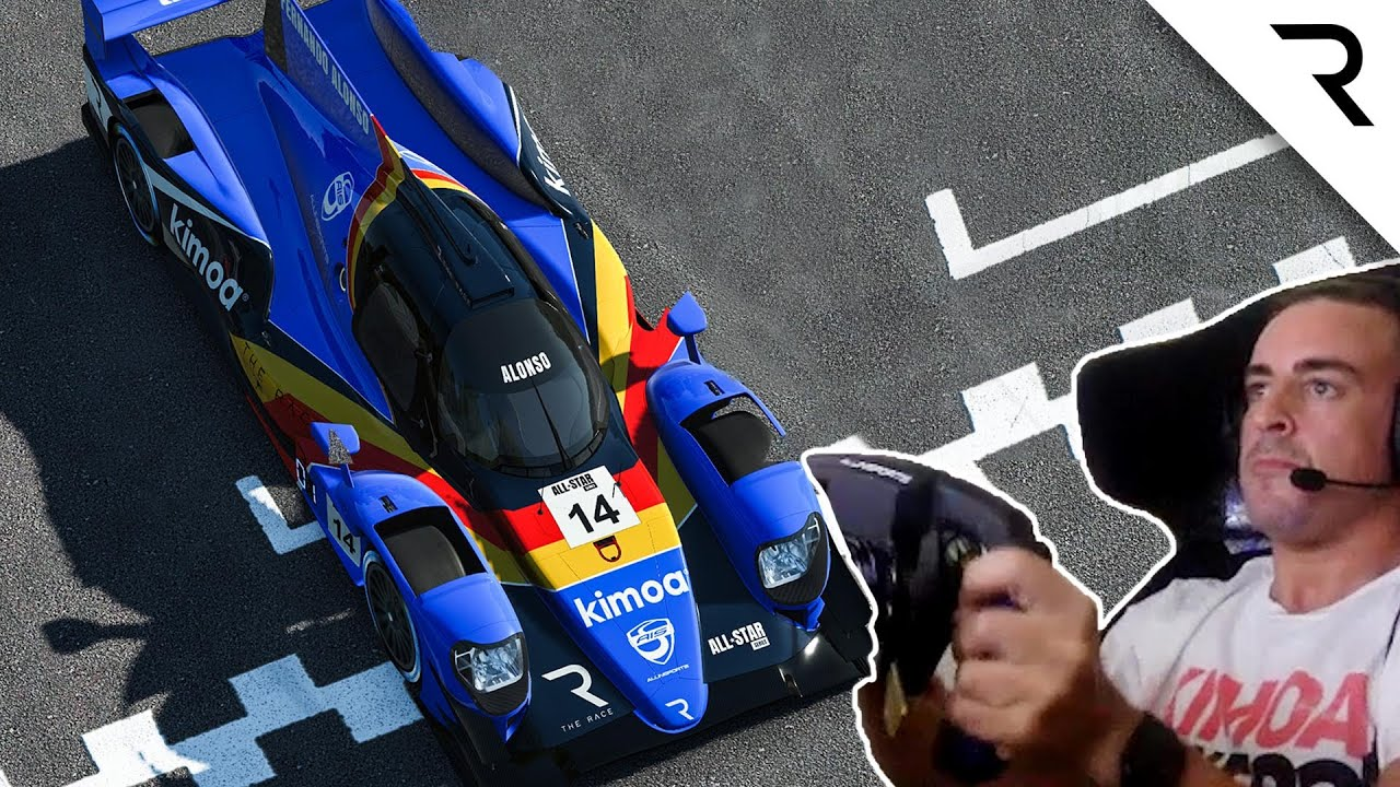 Alonso drives from last on the grid to WIN at Le Mans