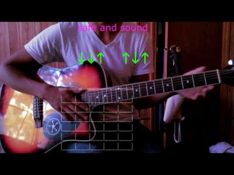 safe and sound capital cities guitar chords