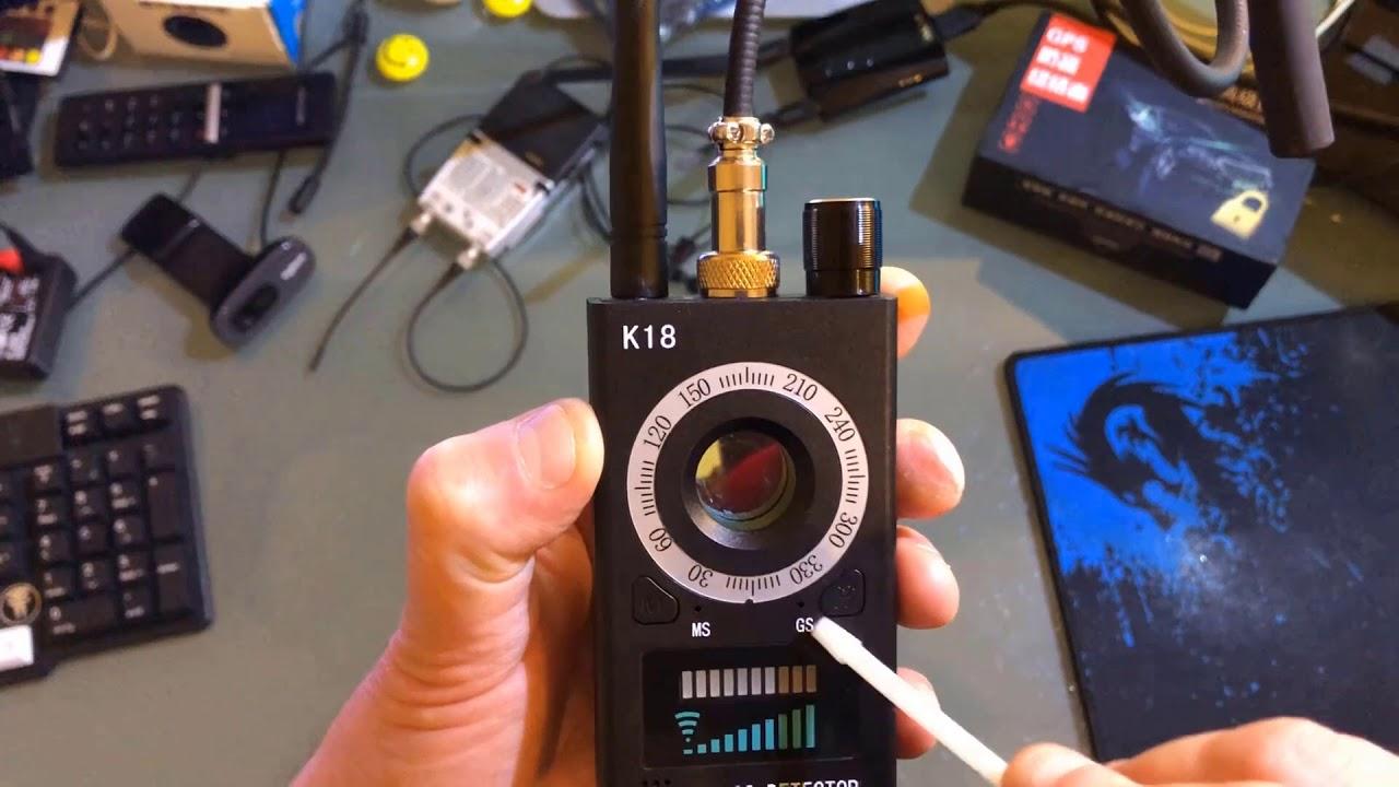 NEU Anti Detektor VERSTECKTE KAMERA GSM Audio Wanze Finder GPS Signal Linse RF