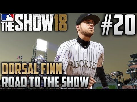 MLB The Show 18 Road to the Show | Dorsal Finn (Third Base) | EP20 | WELCOME TO THE MILE HIGH CITY