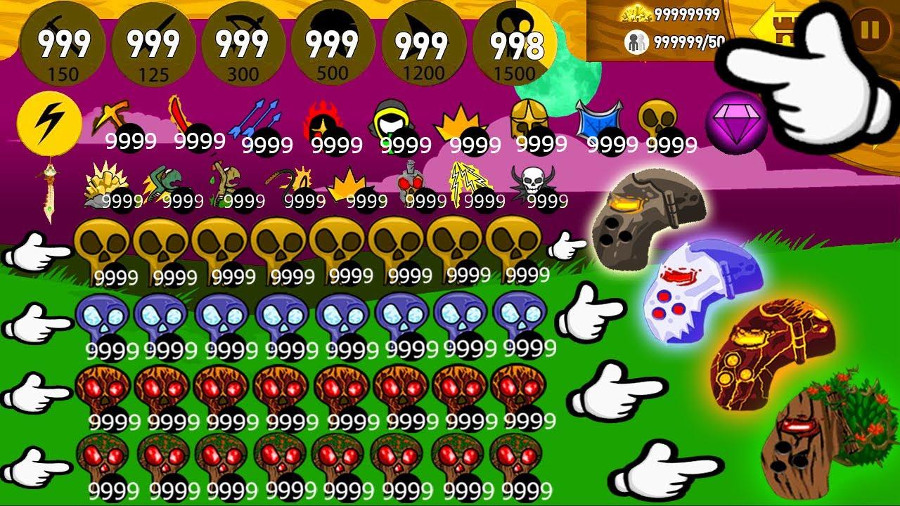 Unlock Full 9999999999 Item New GRIFFON Vs Final Boss Titan - Stick War Legacy Huge Update