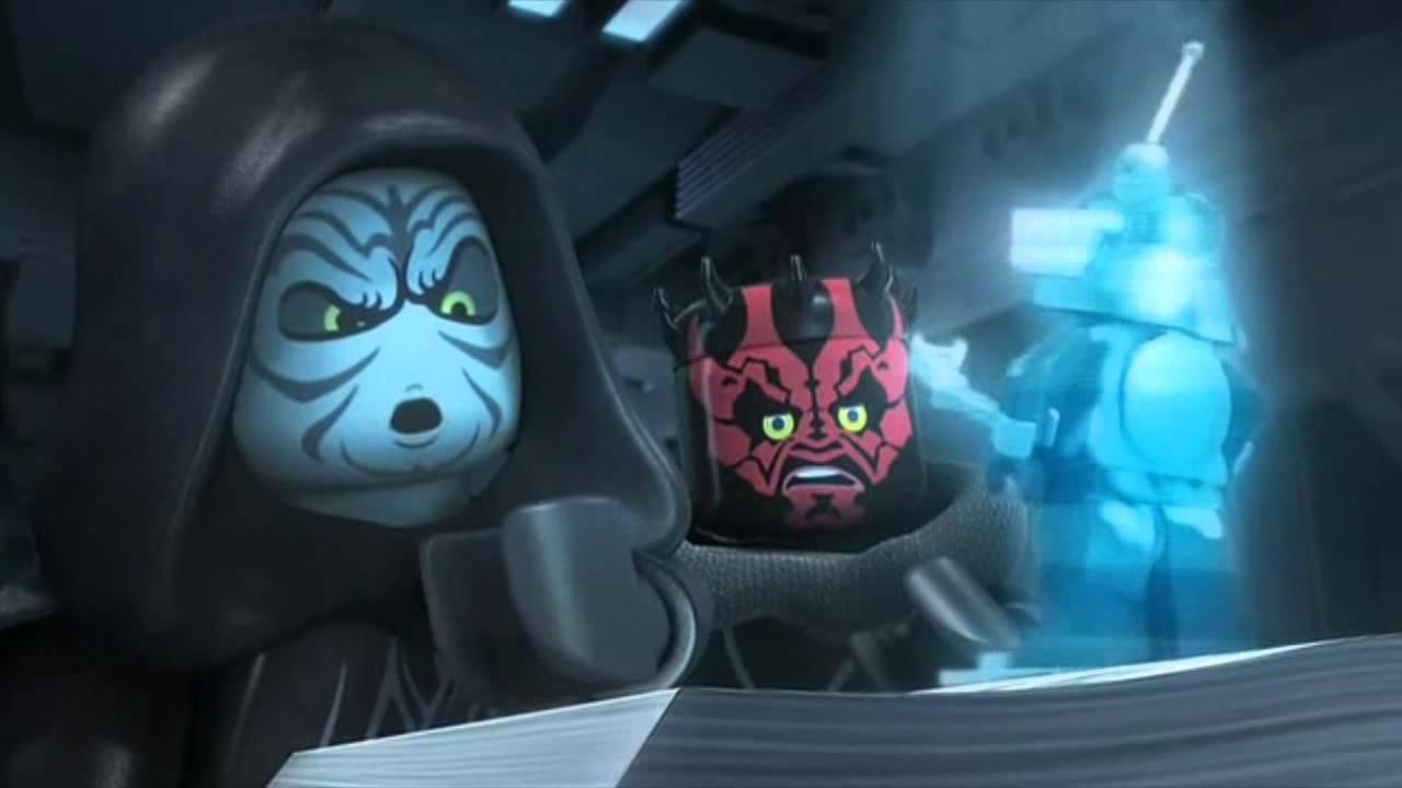 Lego Star Wars O Imperio Detona Geral Dublado Completo Youtube